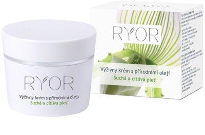 RYOR Dry And Sensitive výživný krém s přírodními oleji