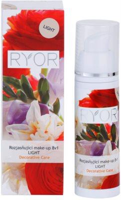 RYOR Decorative Care auffrischendes Make-up 8 in 1 2