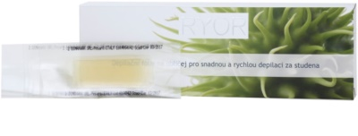 RYOR Depilation and Shaving banda depilatoria facial para la depilación rápida en frío