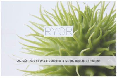 RYOR Depilation and Shaving banda depilatoria corporal para la depilación rápida en frío