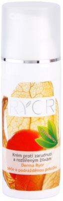 RYOR Derma Ryor Creme gegen Erröten und vergrößerte Adern mit Probiotika