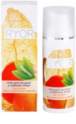 RYOR Derma Ryor krém proti zarudnutí a rozšířeným žilkám s probiotiky 2