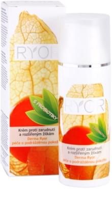 RYOR Derma Ryor krém proti zarudnutí a rozšířeným žilkám s probiotiky 3