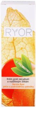 RYOR Derma Ryor krém proti zarudnutí a rozšířeným žilkám s probiotiky 4