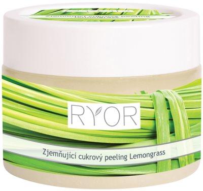 RYOR Lemongrass wygładzający peeling cukrowy do ciała