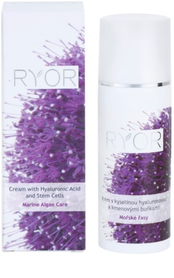 RYOR Marine Algae Care creme com ácido hialurónico e células estaminais 2
