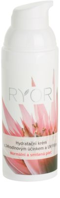 RYOR Normal to Combination crema hidratante 24 horas con filtros solares UV 1
