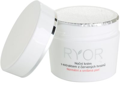RYOR Normal to Combination crema de noche con extracto de uva roja 1