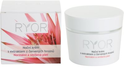 RYOR Normal to Combination crema de noche con extracto de uva roja 3