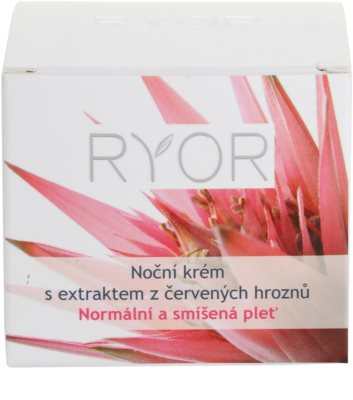 RYOR Normal to Combination crema de noche con extracto de uva roja 4