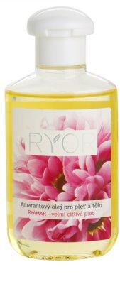 RYOR Ryamar amarantový olej pro pleť a tělo