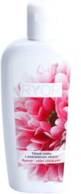 RYOR Ryamar leite corporal com óleo de amaranto