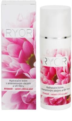 RYOR Ryamar feuchtigkeitsspendende Creme mit Amarant-Öl und UV Filter 3