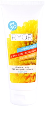 RYOR Sun Care crema bronceadora SPF 50