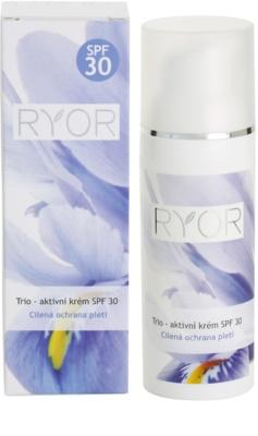 RYOR Trio aktivní krém SPF 30 3