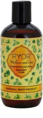 RYOR Wellness and Spa Beer Cosmetics Badeschaum mit Bier
