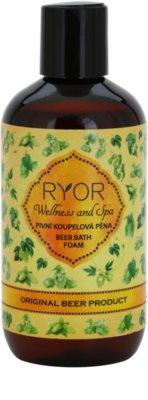 RYOR Wellness and Spa Beer Cosmetics espuma de banho de cerveja