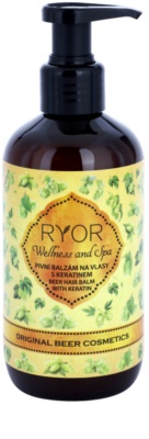 RYOR Wellness and Spa Beer Cosmetics bálsamo de levadura de cerveza para cabello  con keratina