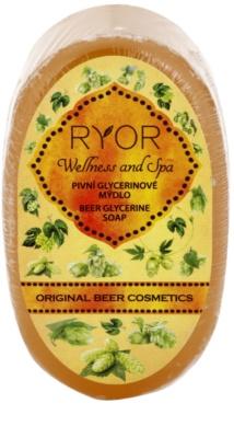 RYOR Wellness and Spa Beer Cosmetics sabão de glicerina de cerveja