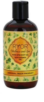 RYOR Wellness and Spa Beer Cosmetics pivní sprchový gel