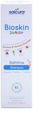 Salcura Bioskin Junior Bathtime champú para el cuero cabelludo de bebés 1