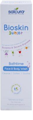 Salcura Bioskin Junior Bathtime измиващ гел за лице и тяло за деца 2