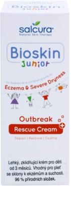 Salcura Bioskin Junior Outbreak crema calmante con fórmula ligera para niños