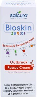 Salcura Bioskin Junior Outbreak lahka in pomirjajoča krema za otroke