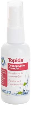Salcura Topida spray refrescante antimicótico para as partes íntimas