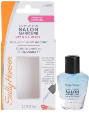 Sally Hansen Complete Salon Manicure gotas  para acelerar el proceso de secado del esmalte de uñas 2