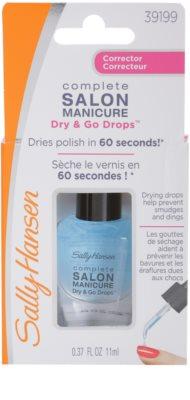 Sally Hansen Complete Salon Manicure gotas  para acelerar el proceso de secado del esmalte de uñas 3