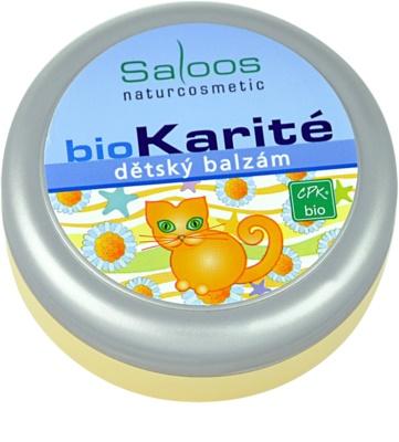 Saloos Bio Karité дитячий бальзам