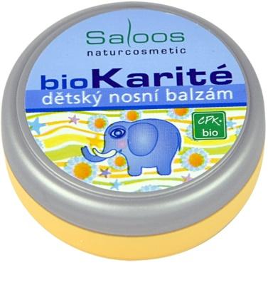 Saloos Bio Karité balsam nazal pentru bebelusi