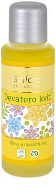 Saloos Bio Body and Massage Oils telový a masážny olej