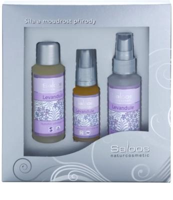 Saloos Face Care Set kosmetická sada Lavender II.