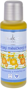 Saloos Pregnancy and Maternal Oil aceite de caléndula para niños