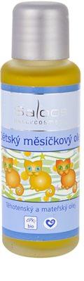 Saloos Pregnancy and Maternal Oil óleo de calêndula para bebés
