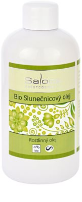 Saloos Vegetable Oil Bio Bio-Sonnenblumenöl
