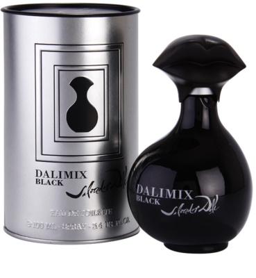 Salvador Dali Dalimix Black toaletná voda pre ženy 1