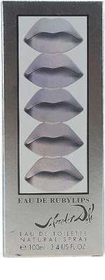 Salvador Dali Eau De Ruby Lips Eau de Toilette para mulheres 4