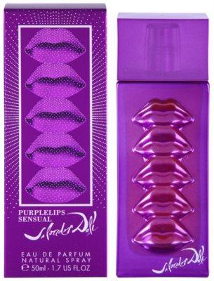 Salvador Dali Purplelips Sensual Eau de Parfum para mulheres
