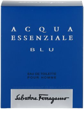 Salvatore Ferragamo Acqua Essenziale Blu Eau de Toilette für Herren 4