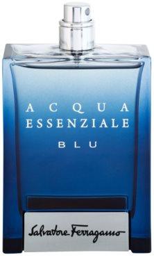 Salvatore Ferragamo Acqua Essenziale Blu eau de toilette teszter férfiaknak