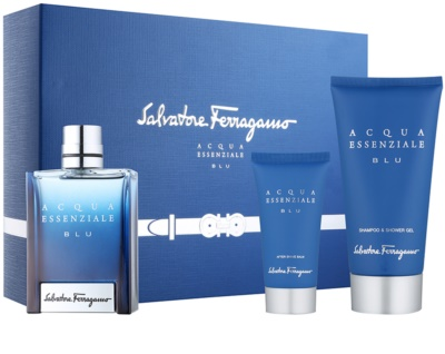 Salvatore Ferragamo Acqua Essenziale Blu подарункові набори
