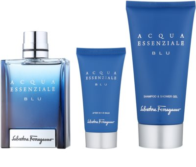 Salvatore Ferragamo Acqua Essenziale Blu Geschenksets 1