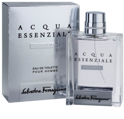Salvatore Ferragamo Acqua Essenziale Colonia Eau de Toilette für Herren 1