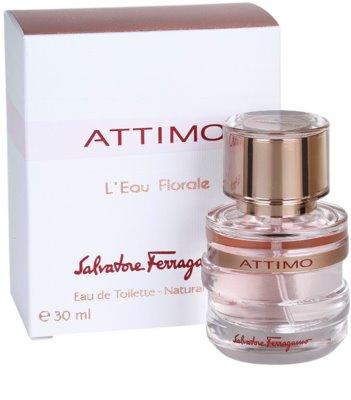 Salvatore Ferragamo Attimo L´Eau Florale Eau de Toilette für Damen 1