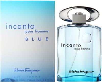 Salvatore Ferragamo Incanto Blue Eau de Toilette for Men