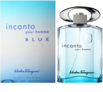 Salvatore Ferragamo Incanto Blue toaletna voda za moške