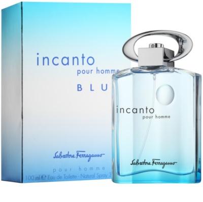 Salvatore Ferragamo Incanto Blue toaletná voda pre mužov 1